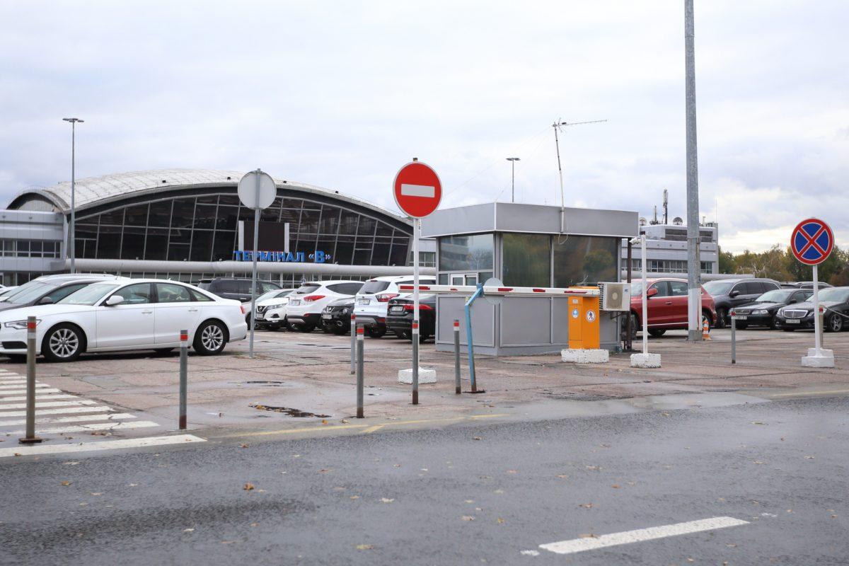 паркінг в аеропорті бориспіль Б