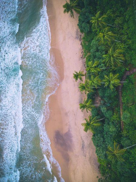 пляж на шрі-ланці
