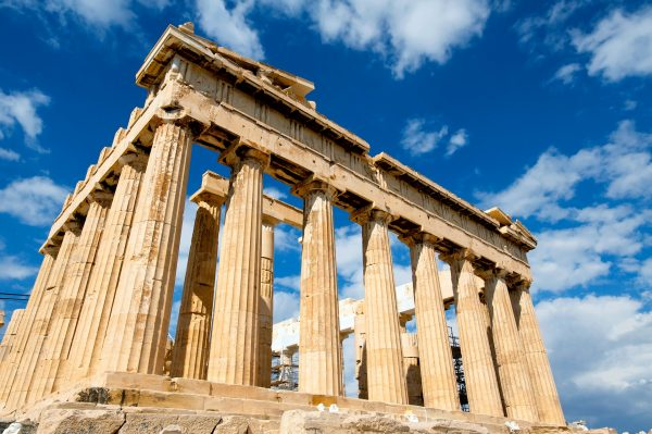 Афіни храм парфенон