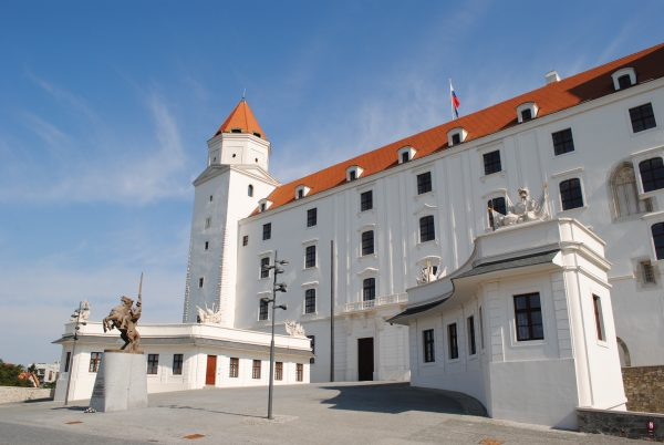 Словаччина Братислава фортеця