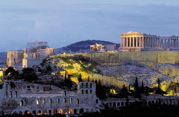 акрополіс в афінах