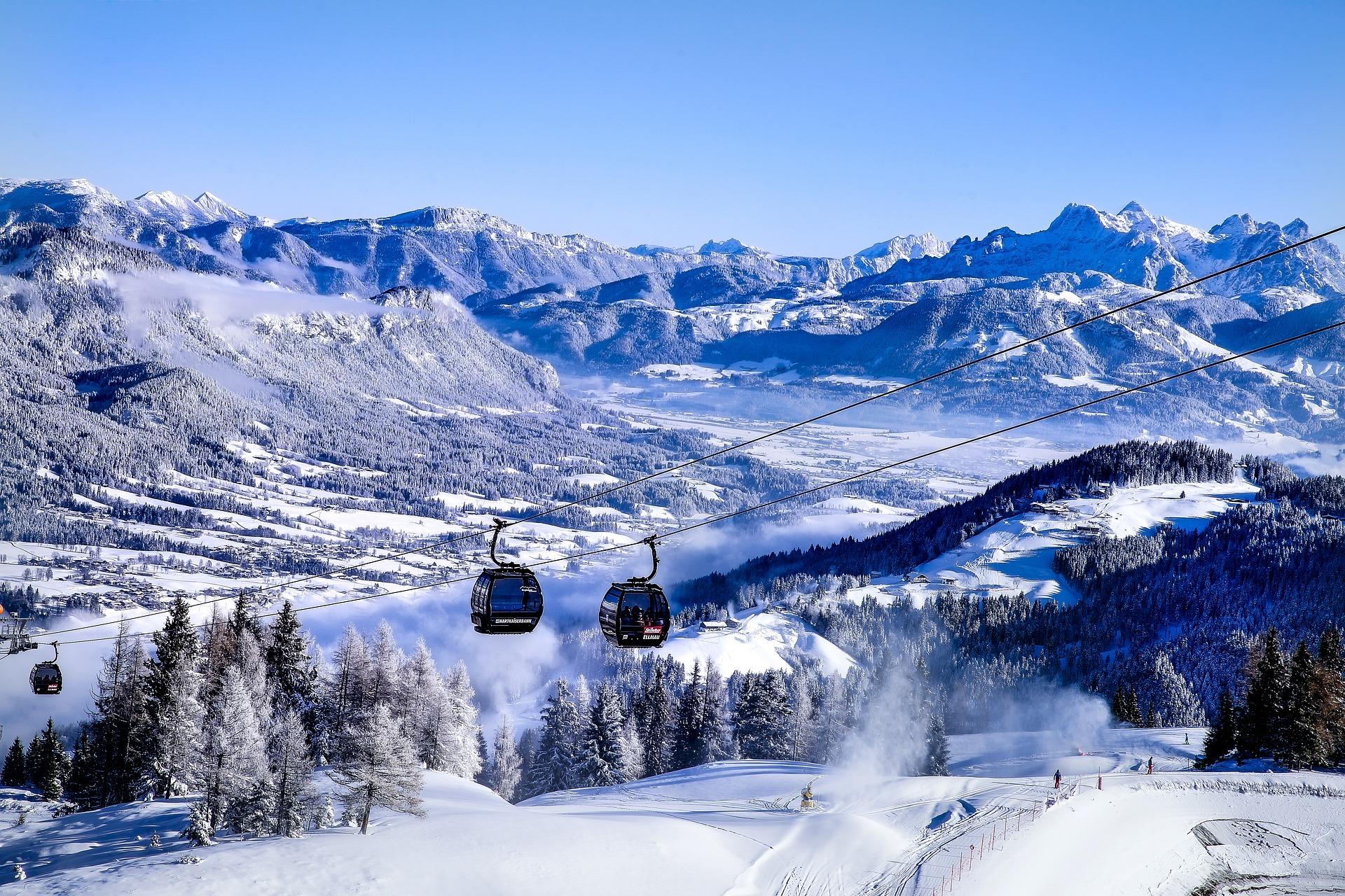Австрія гори підйомник