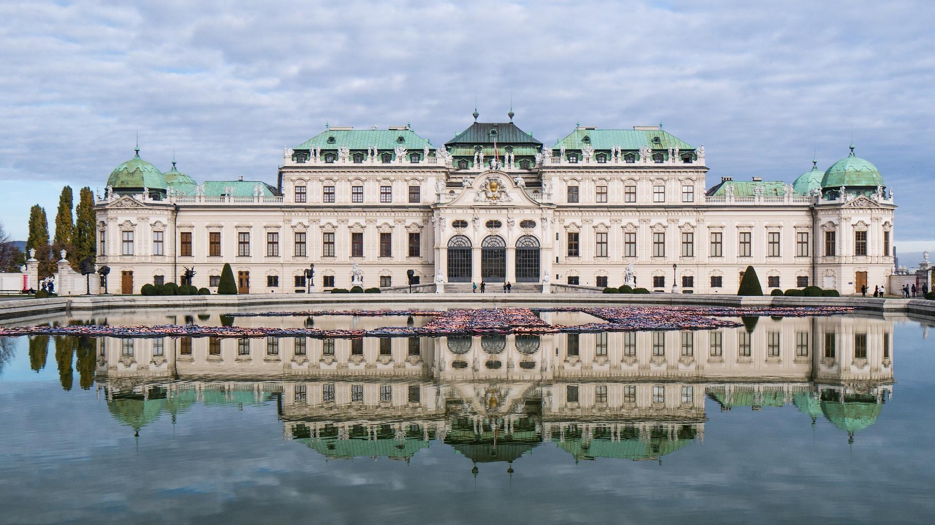 відень бельведерський замок