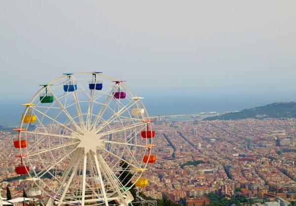 Іспанія Барселона вид зверху
