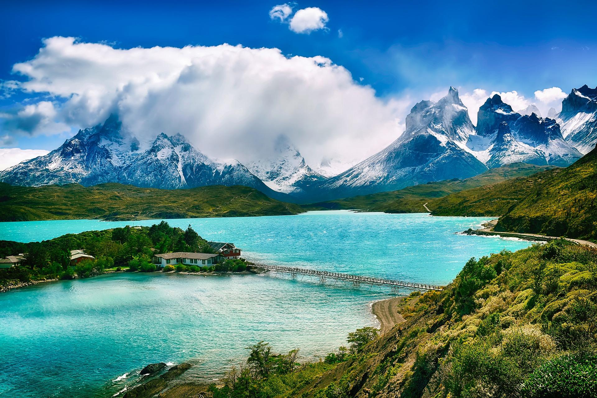 Чилі гори затока