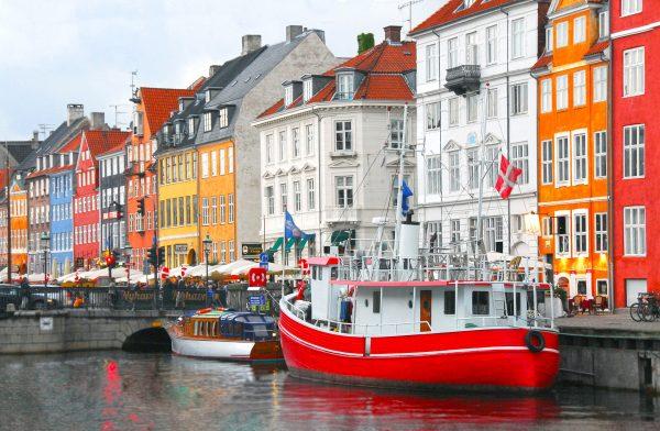 Копенгаген ріка човен