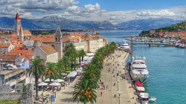 Хорватія місто море