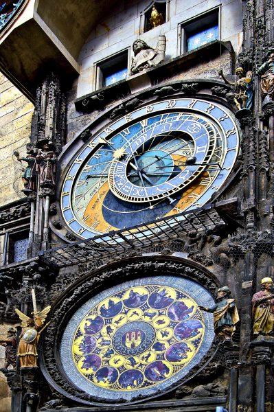 Чехія Прага годинник