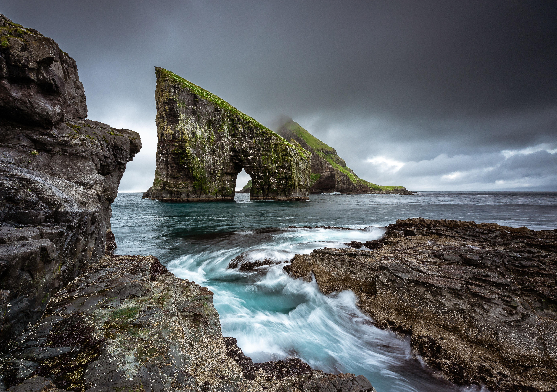 фарерські острови вагар скеля