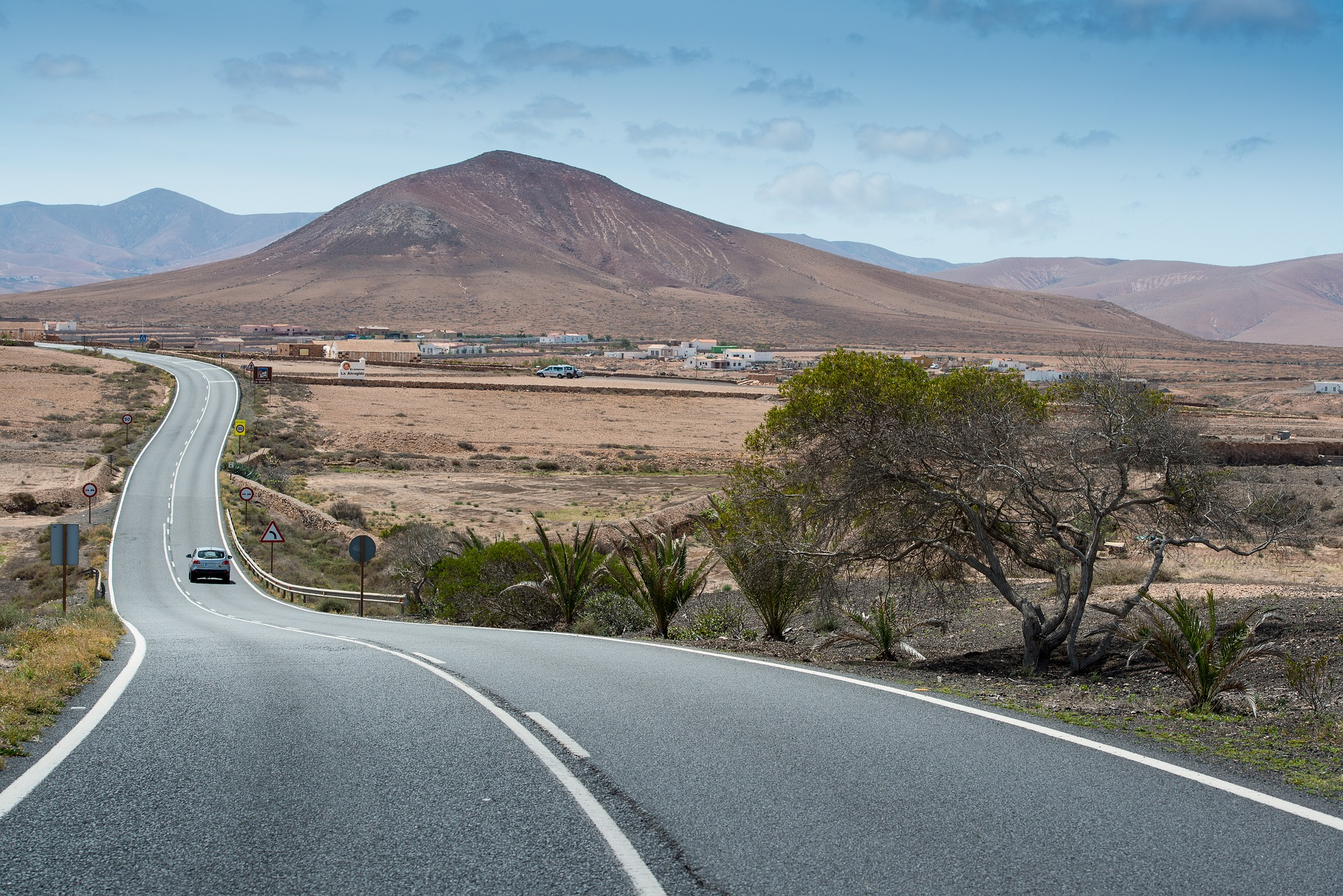 Іспанія Канари Фуертевентура дорога