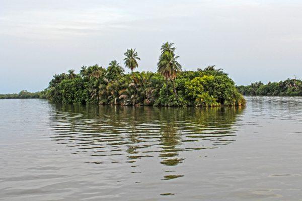 гамбія острів