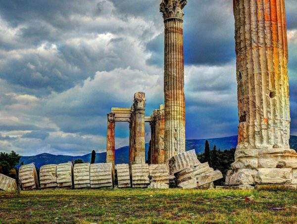афіни храм зевса
