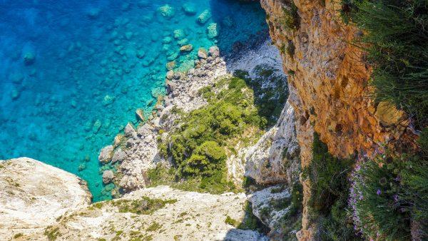 Греція Кріт відок з повітря