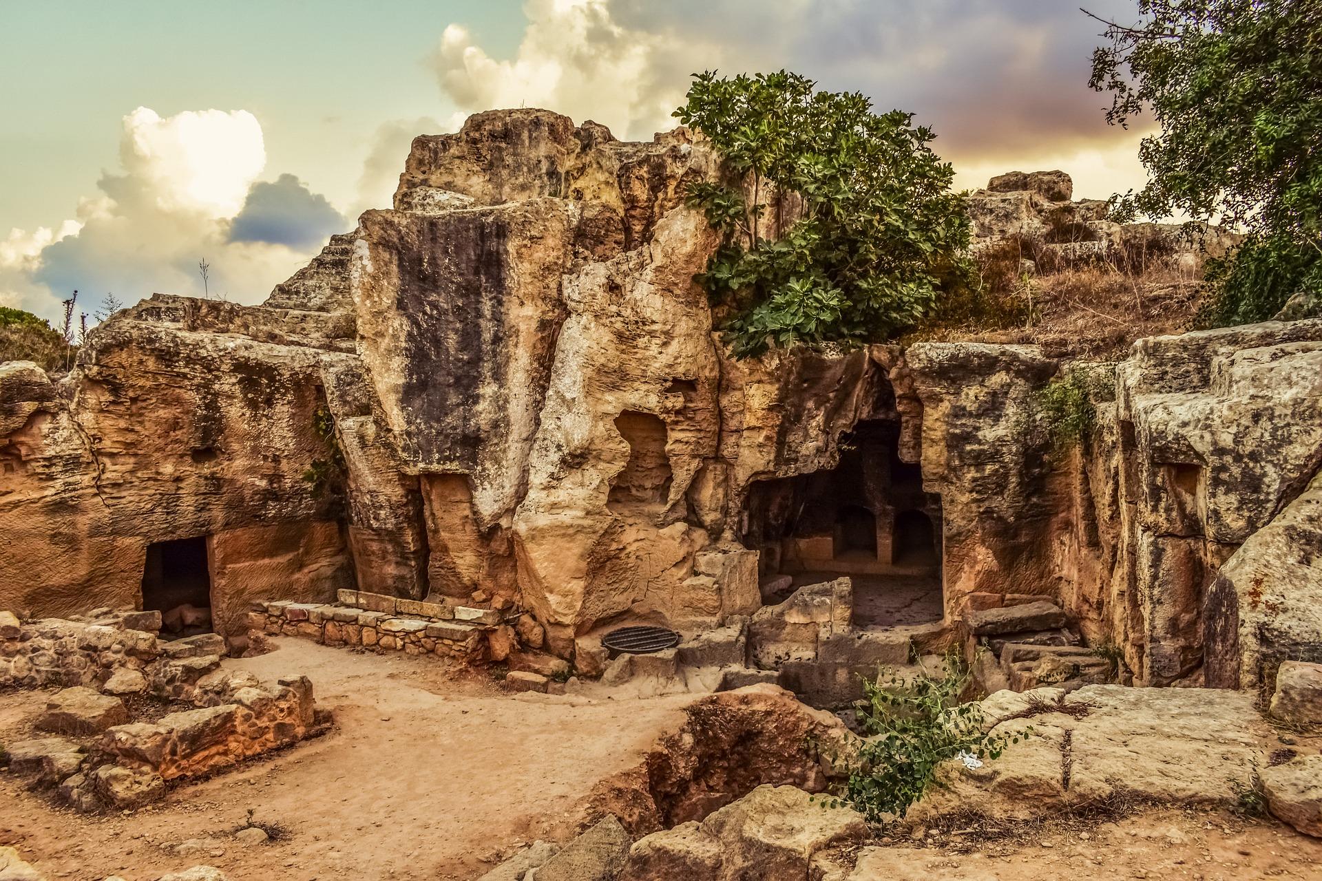 кіпр пафос королівська гробниця