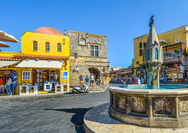 Греція Родос площа