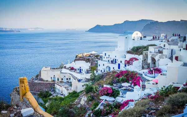 Греція Санторині вид