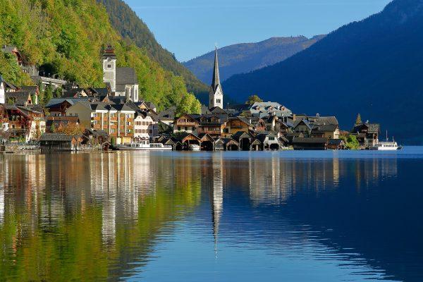 Австрія Гальштад озеро