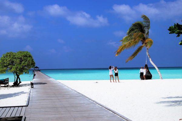 Мальдіви пляж пірс
