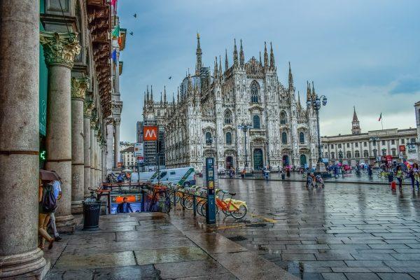 Італія Мілан площа
