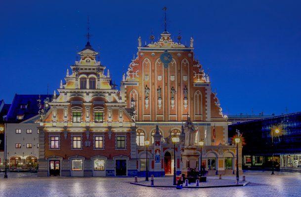 Латвія Рига площа