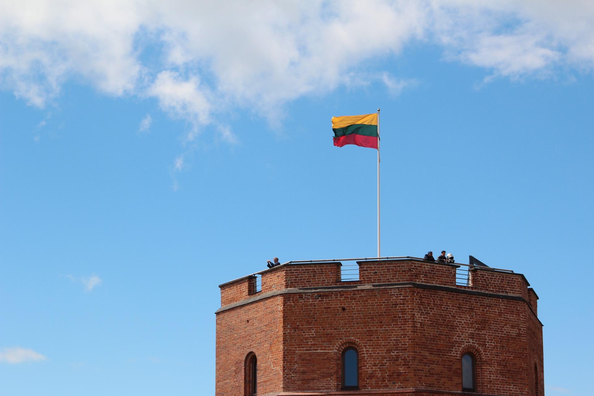 Літва Вільнюс вежа гедиміноса