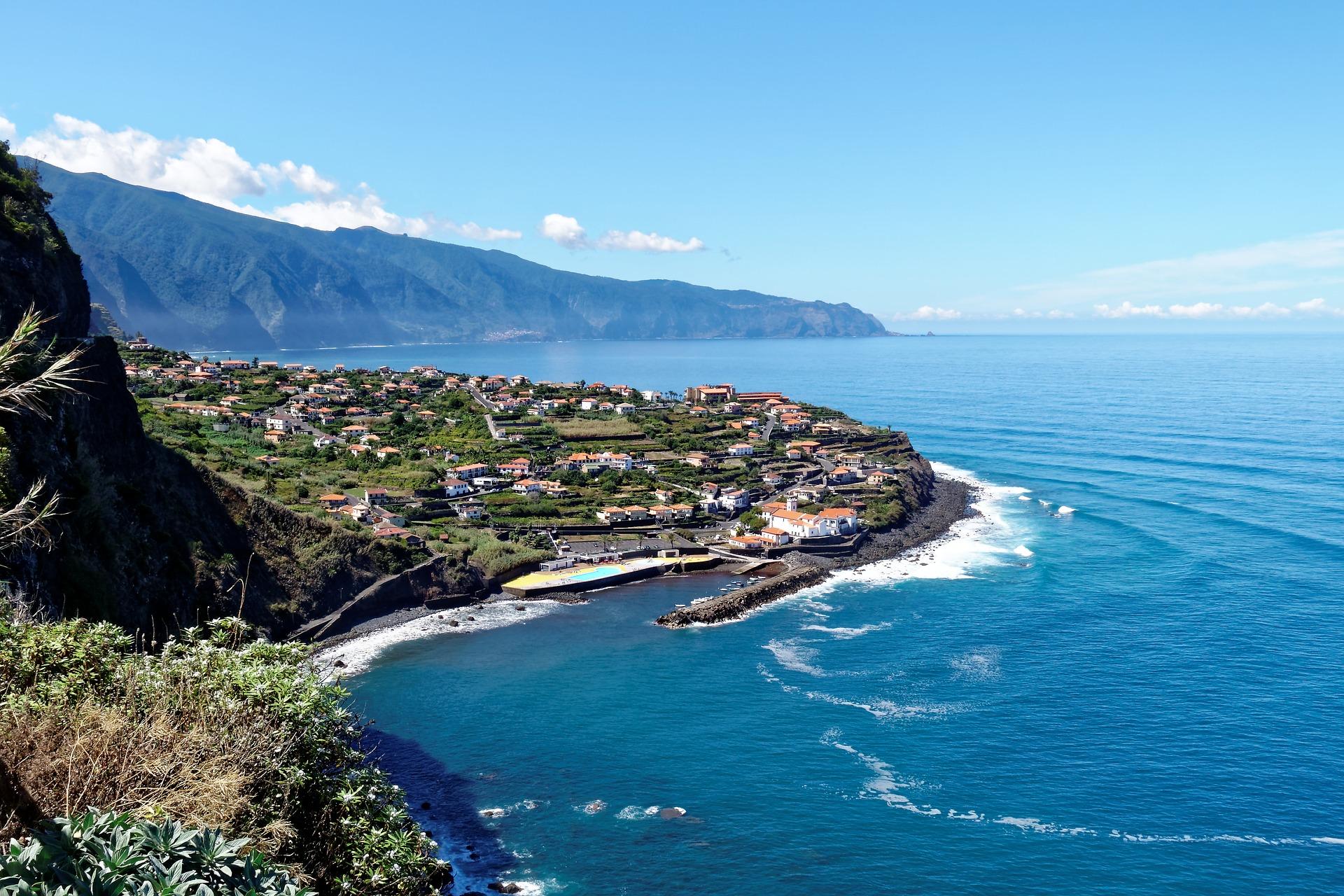 Португалія Мадейра море місто