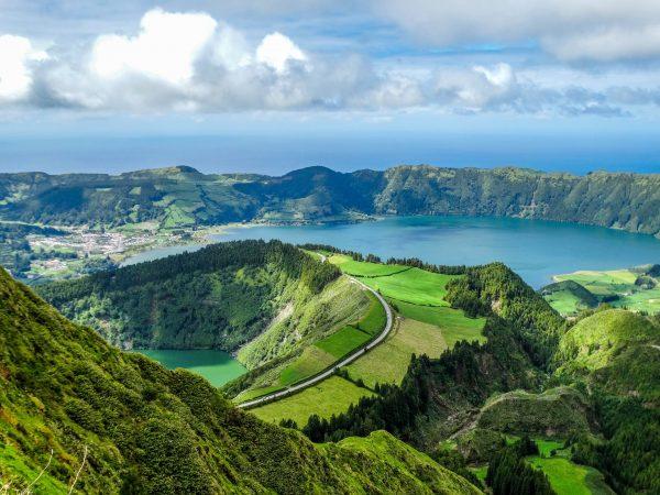 Азорськы острови озеро паномара