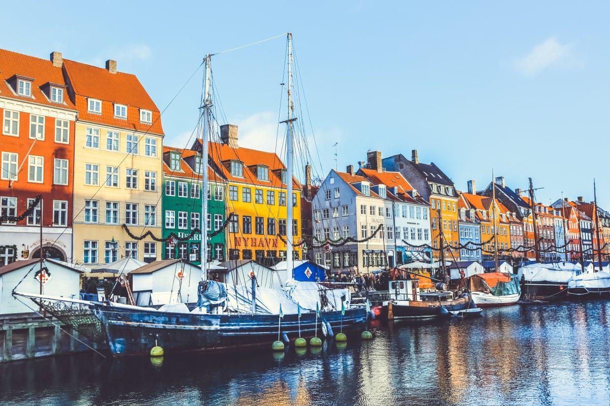 Данія Копенгаген набережна