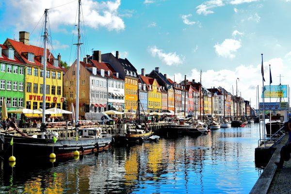 Копенгаген ріка човни