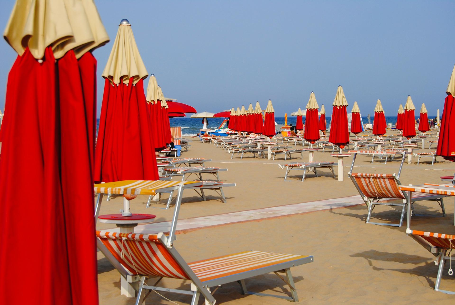 ріміні пляж