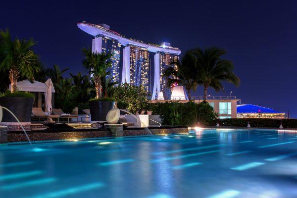Сінгапур нічне місто