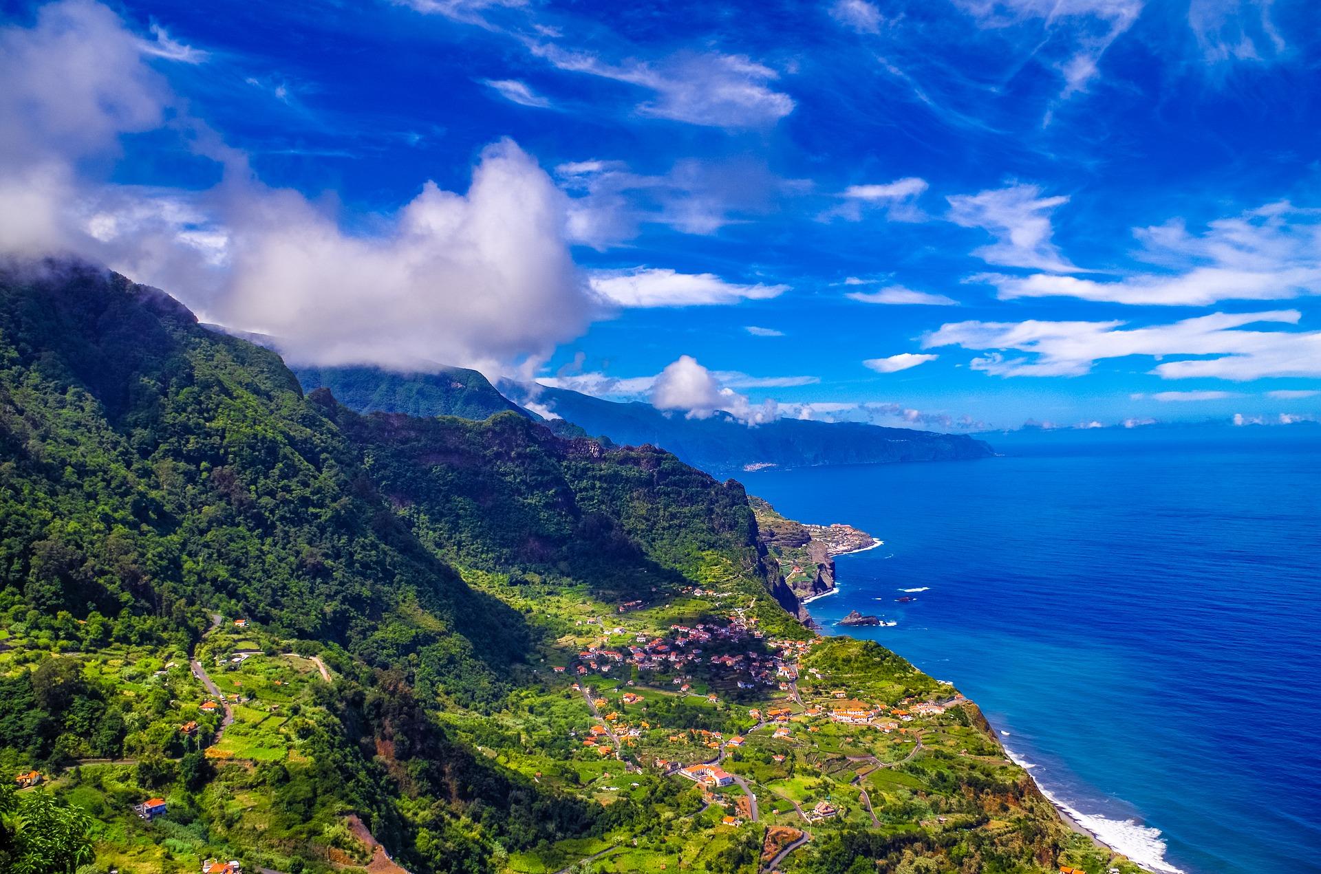 Португалія Мадейра панорама