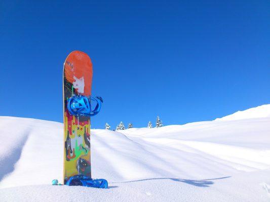 Сноуборд взимку