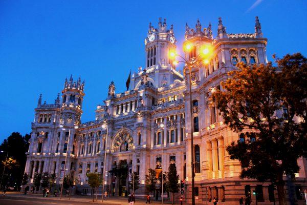 Мадрид палац