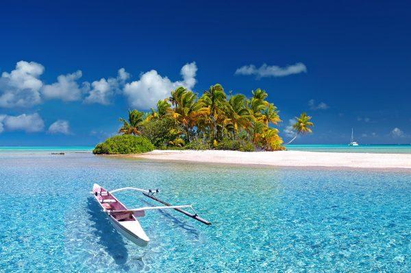 таїті острів і човен