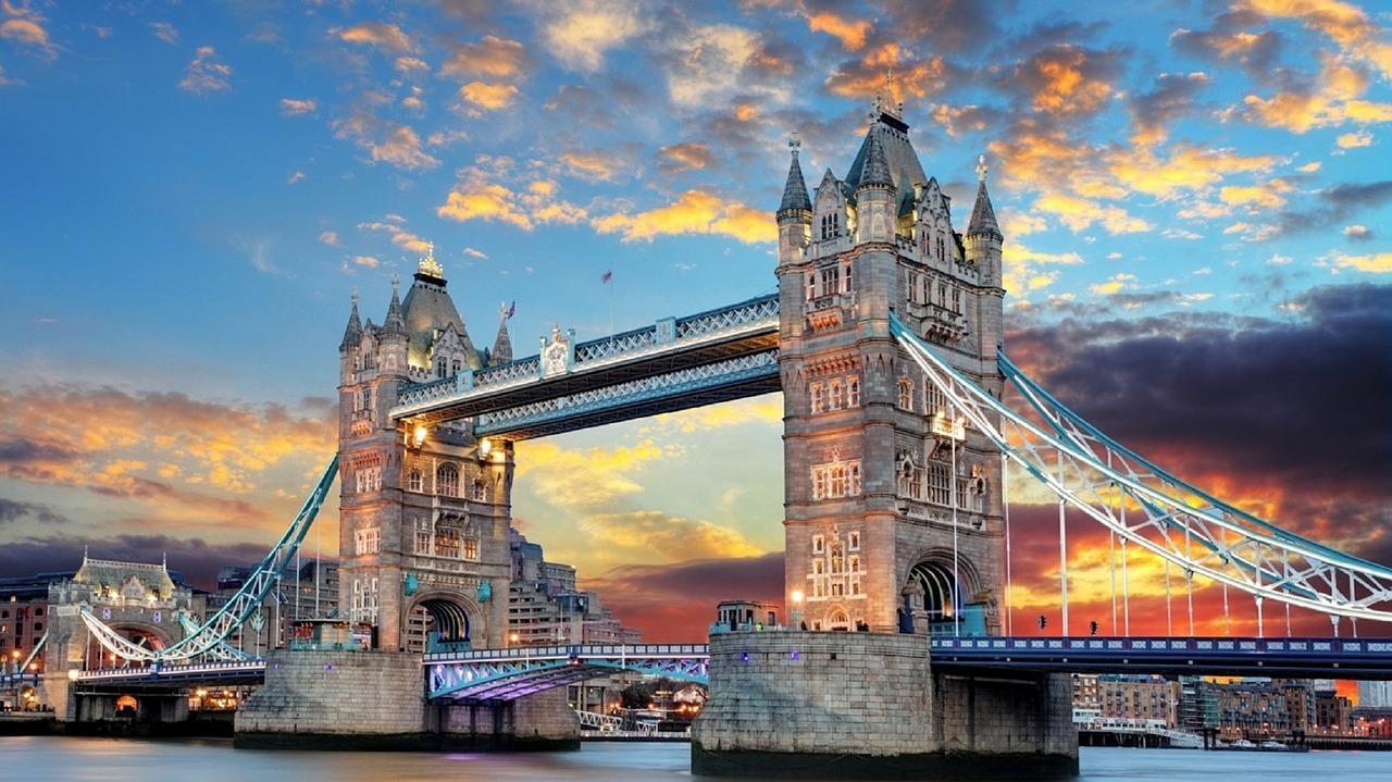 Великобританія лондон Тауер міст