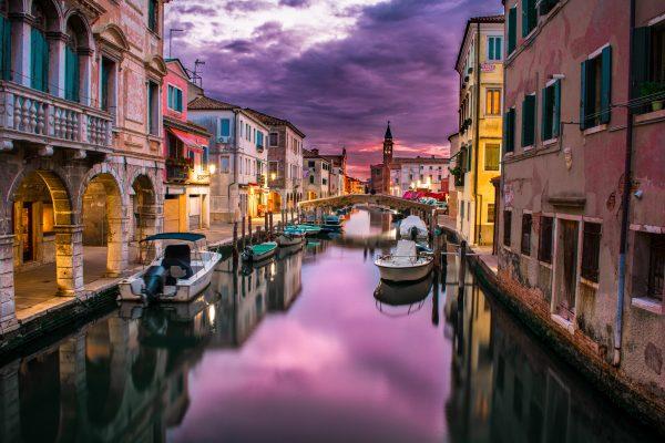 Венеція канал