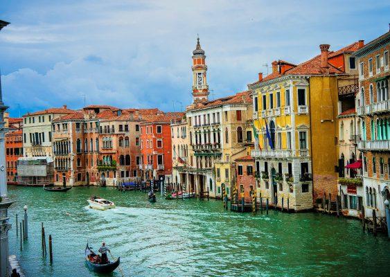Італія Венеція канал будинки