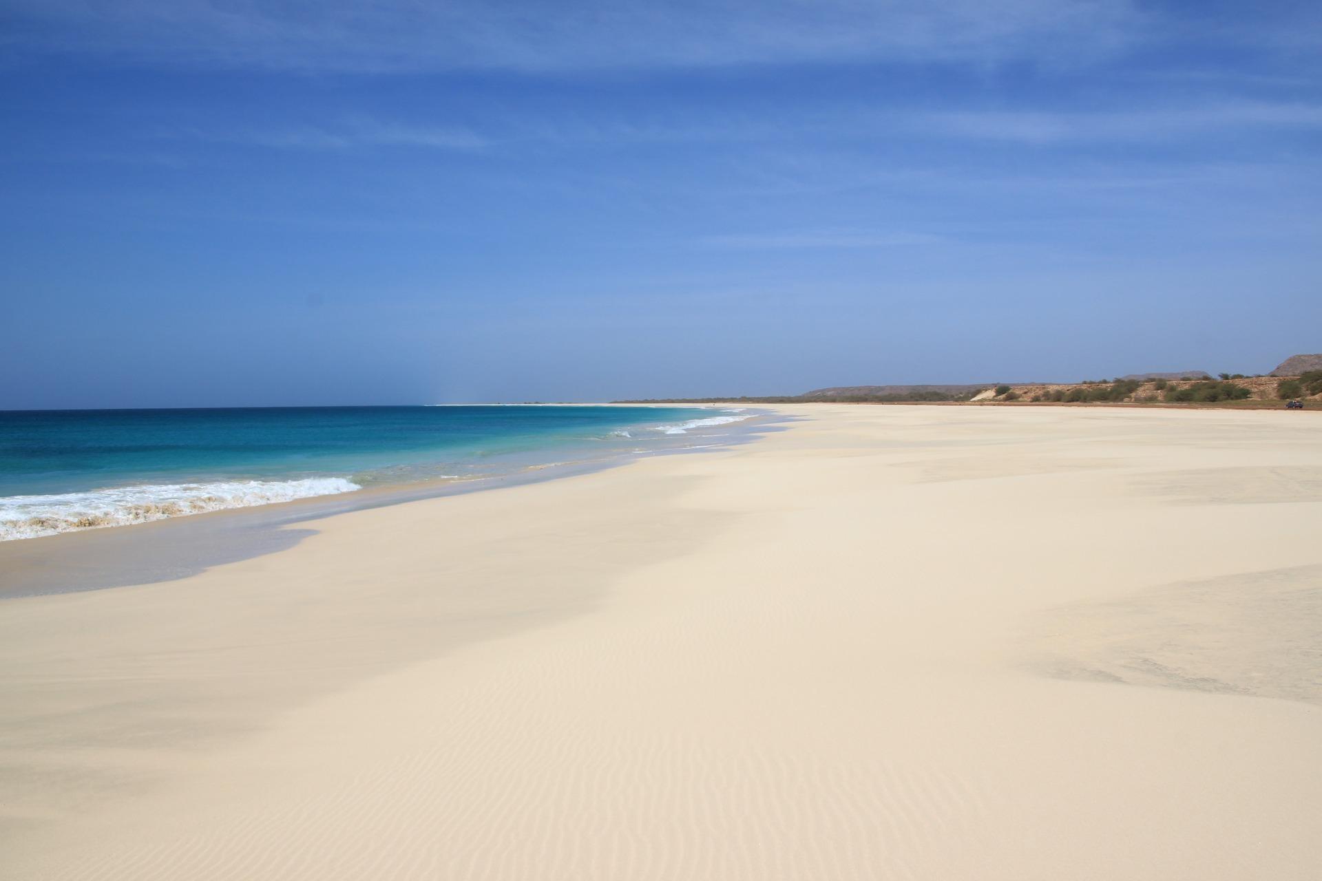кабо верде боа віста пляж