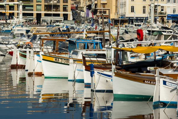 Франція Марсель порт яхти