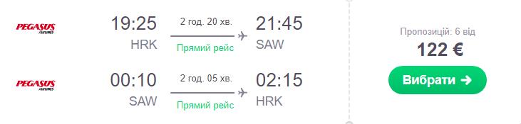Харків - Стамбул -Харків