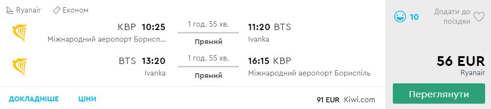 Київ - Братислава -Київ