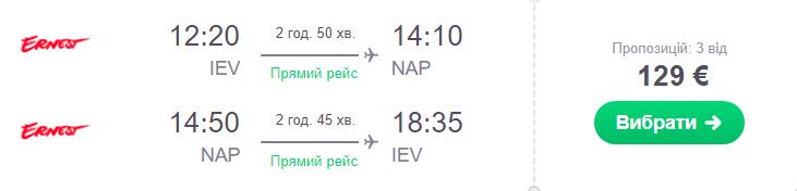 Київ - Неаполь -Київ