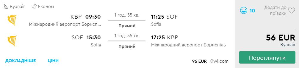 Київ - Софія -Київ