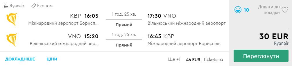 Київ - Вільнюс -Київ >>