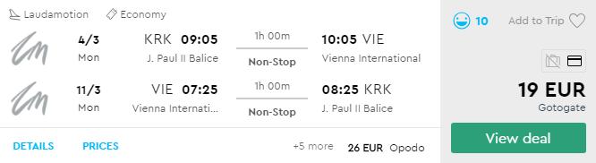 Краків - Відень - Краків
