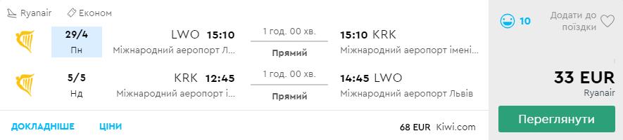 Львів - Краків -Львів