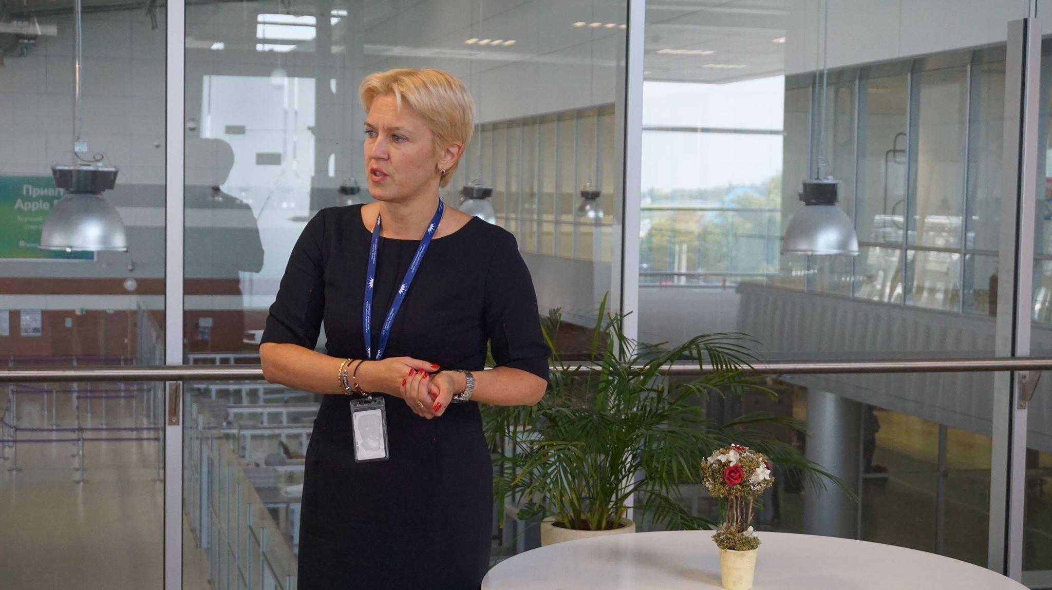 тетяна романовська директор аеропорту Львів
