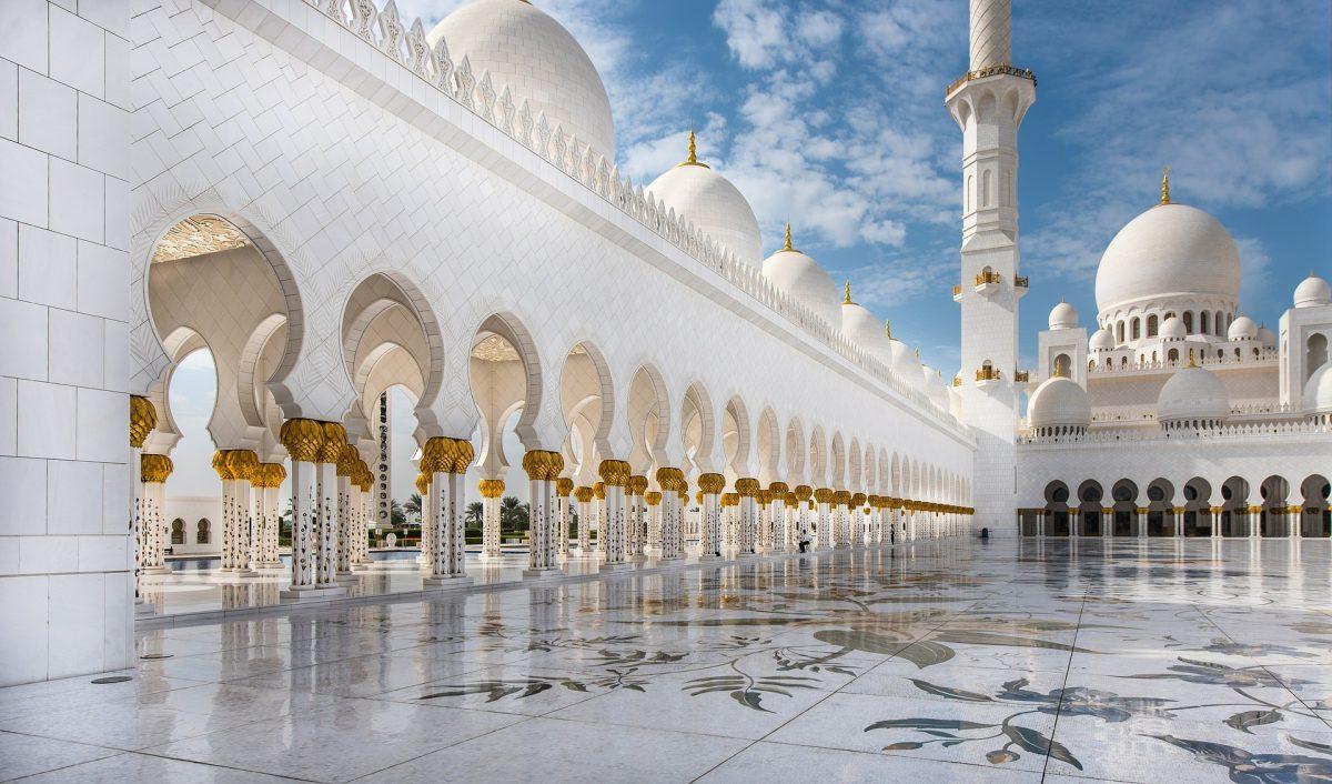 абу дабі мечеть шейха зейда