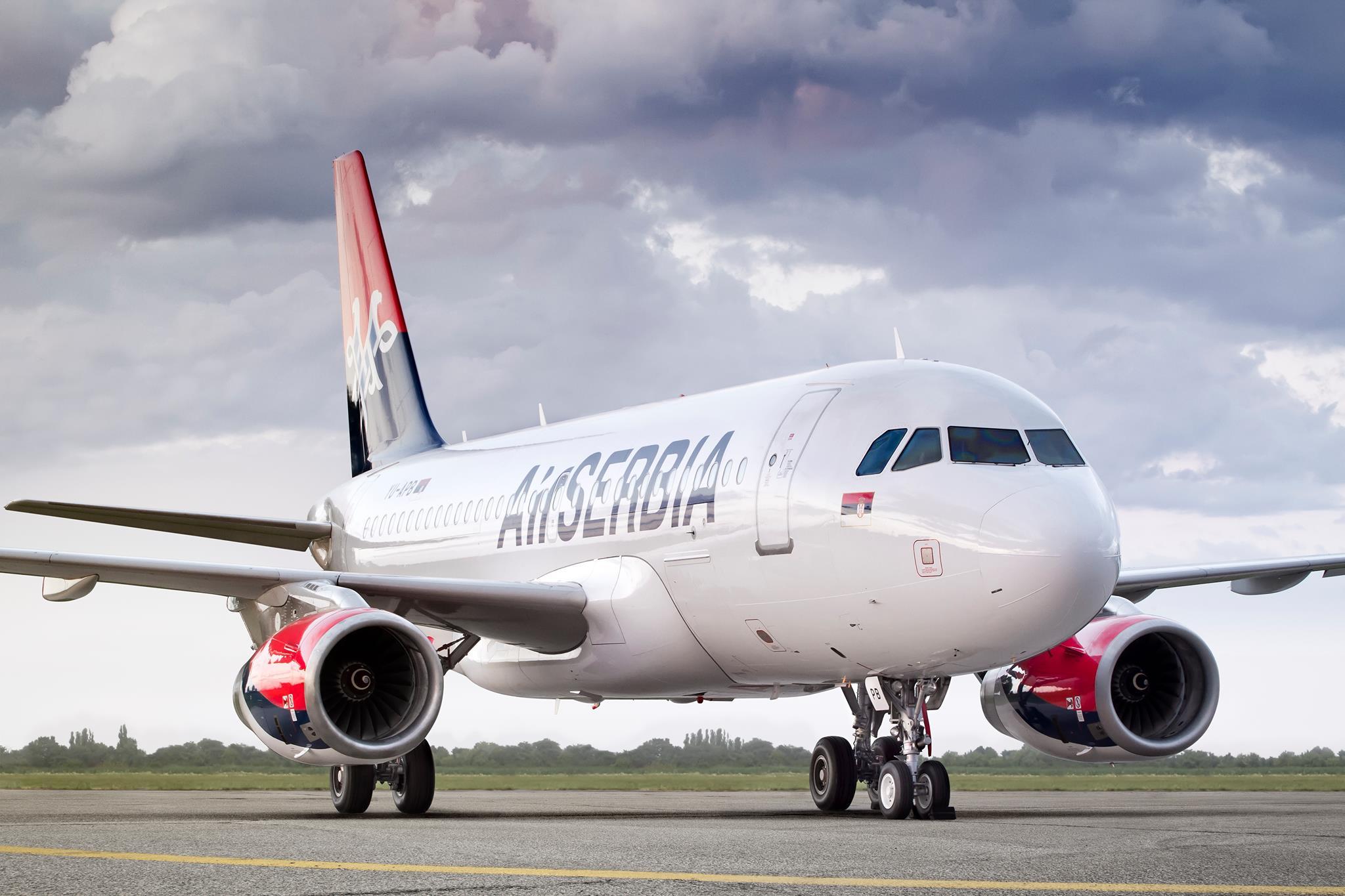 літак Air Serbia